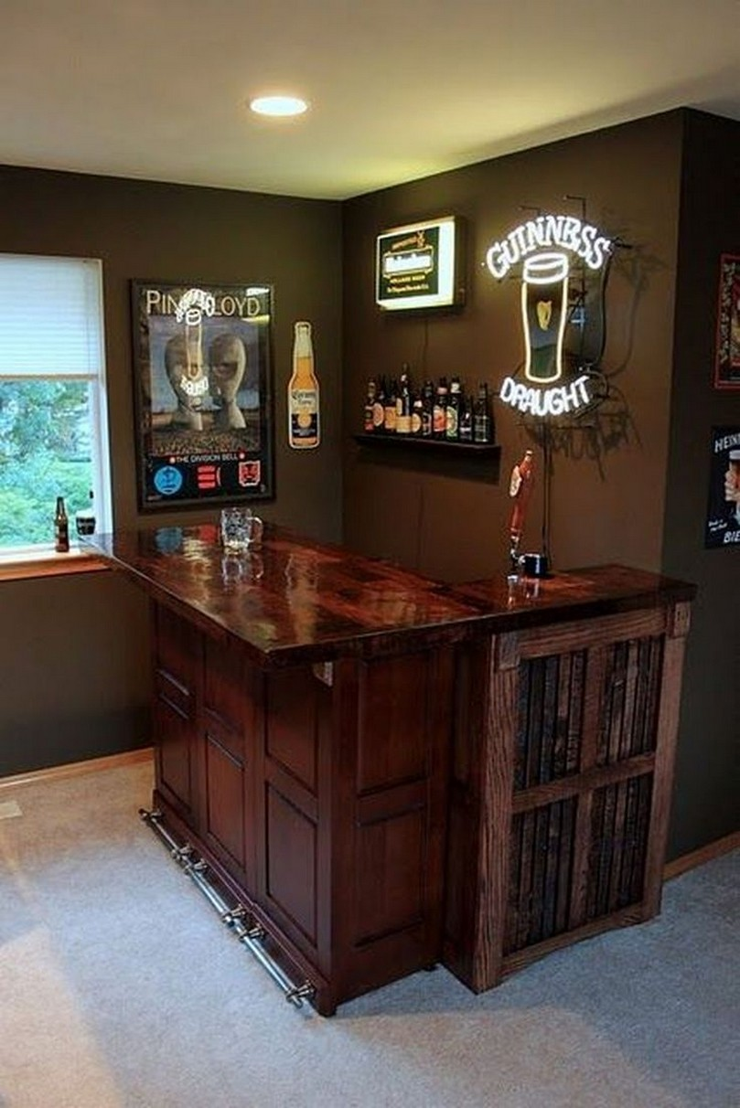 60 Man Cave Bar Ideas To Slake Your Thirst 13