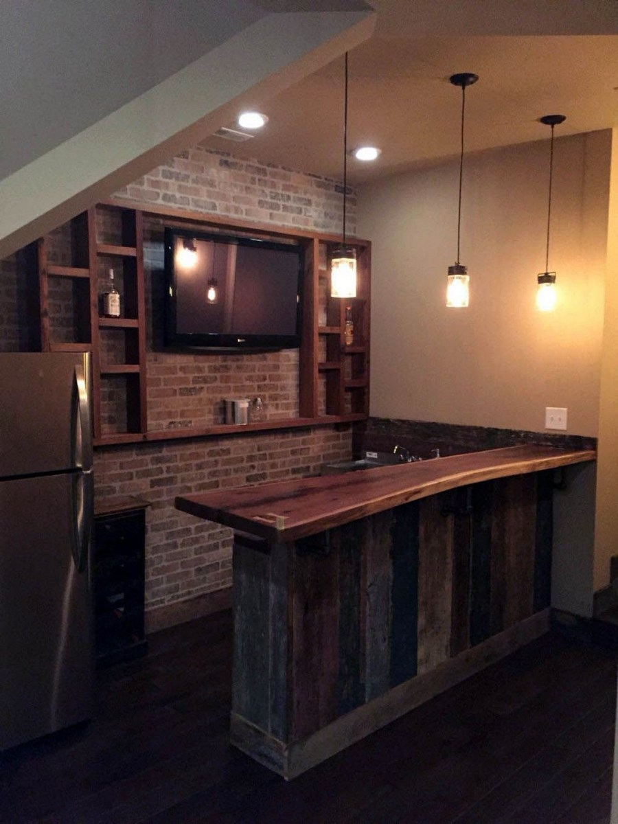 60 Man Cave Bar Ideas To Slake Your Thirst 23