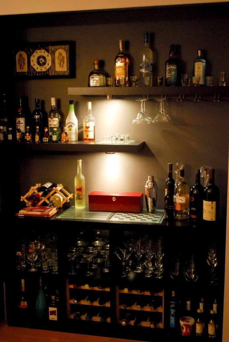 60 Man Cave Bar Ideas To Slake Your Thirst 37