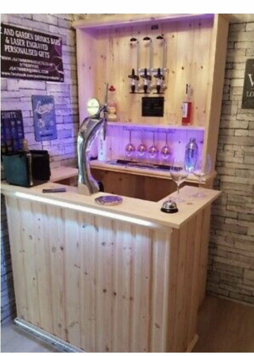60 Man Cave Bar Ideas To Slake Your Thirst 44