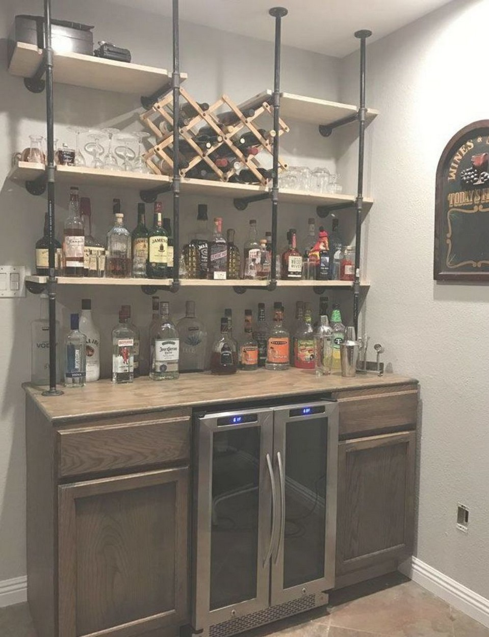 60 Man Cave Bar Ideas To Slake Your Thirst 48