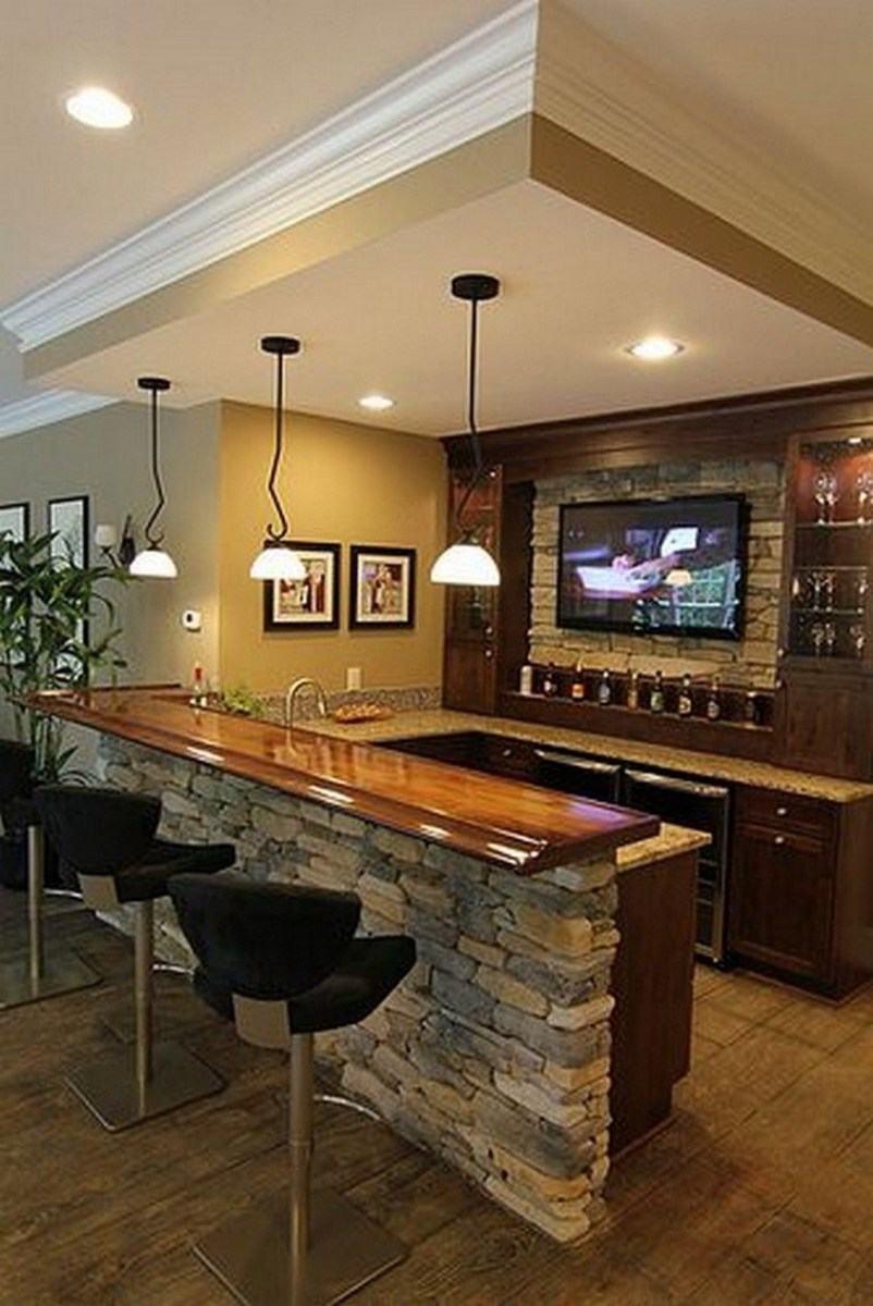 60 Man Cave Bar Ideas To Slake Your Thirst 51