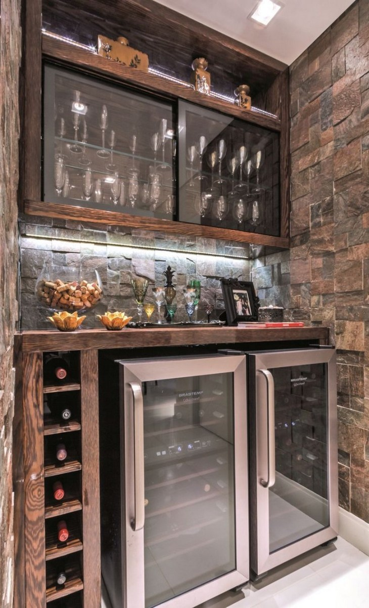60 Man Cave Bar Ideas To Slake Your Thirst 52