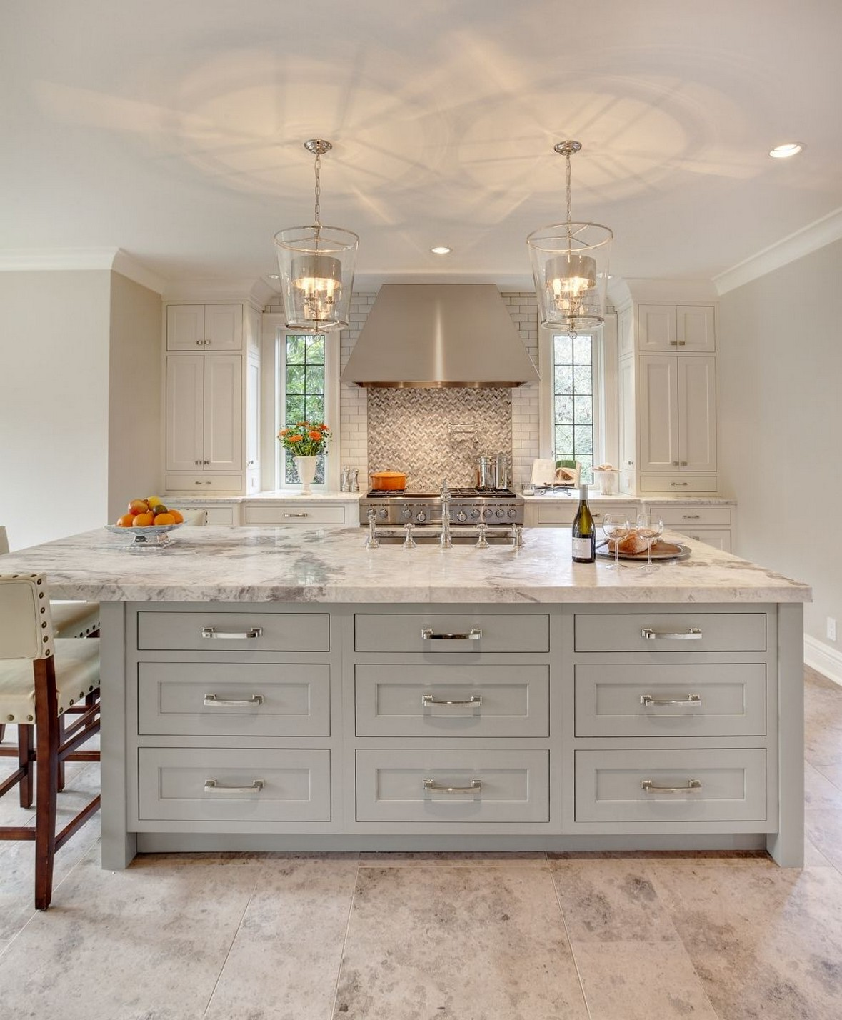 71 Painted Kitchen Cabinets Ideas For Home Decor 4