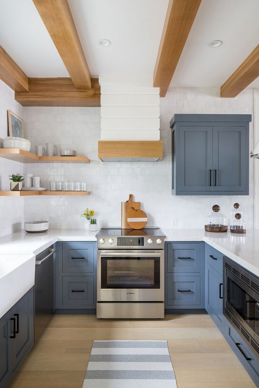 71 Painted Kitchen Cabinets Ideas For Home Decor 44