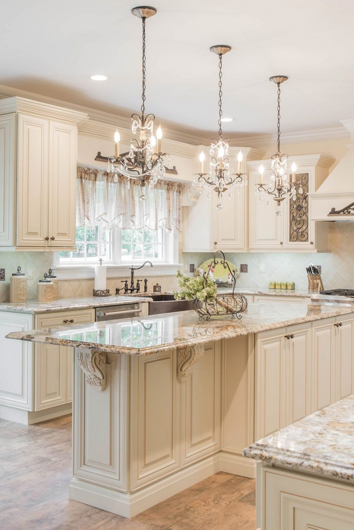 71 Painted Kitchen Cabinets Ideas For Home Decor 57