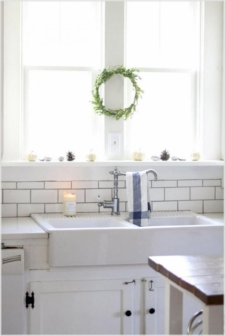 74 Things A Farmhouse Kitchen Sink Can Do For You Home Decor 15