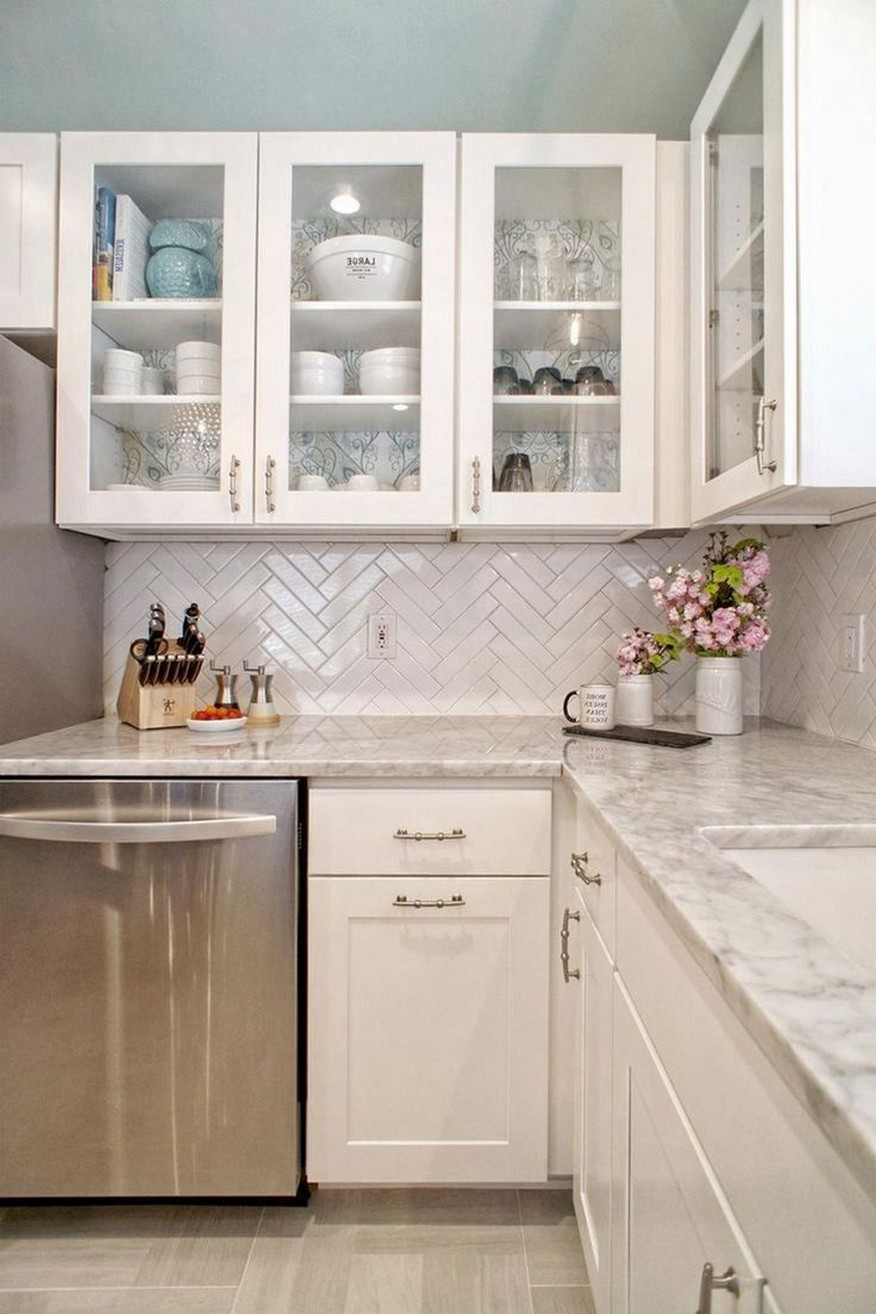 86 Some Small Kitchen Ideas To Help You Do Up Your Kitchen 15