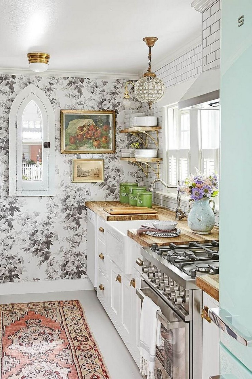 86 Some Small Kitchen Ideas To Help You Do Up Your Kitchen 22