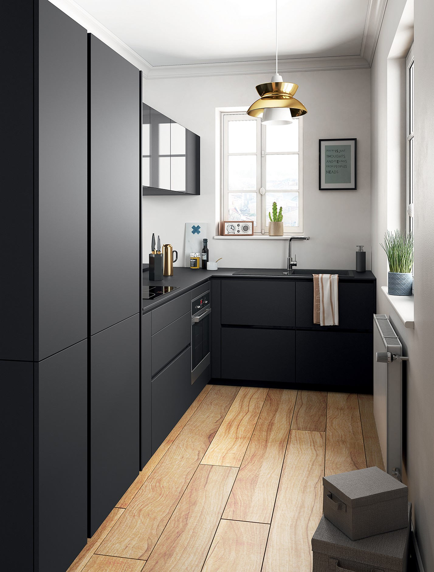 86 Some Small Kitchen Ideas To Help You Do Up Your Kitchen 24