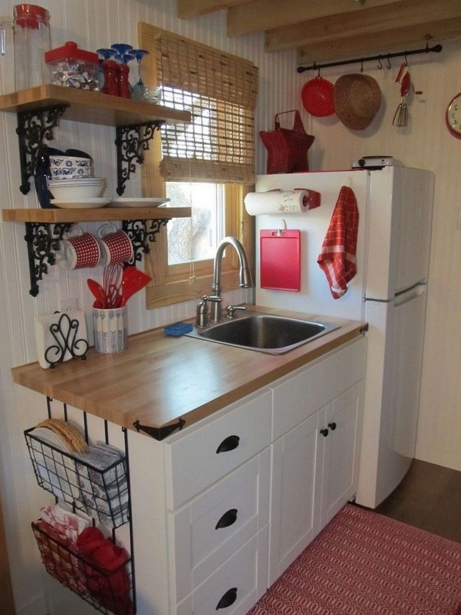86 Some Small Kitchen Ideas To Help You Do Up Your Kitchen 61