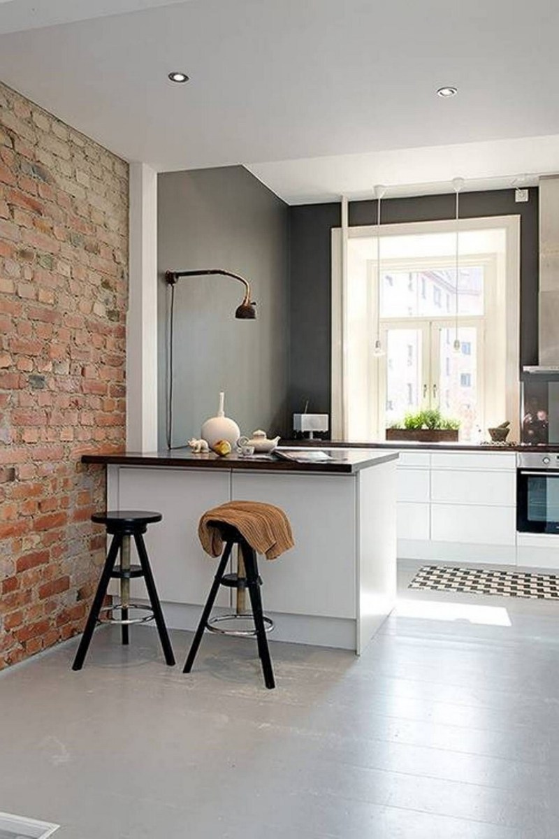 86 Some Small Kitchen Ideas To Help You Do Up Your Kitchen 70