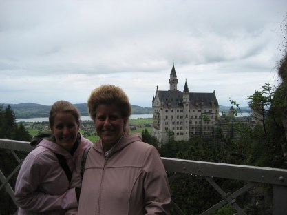 I've been to a castle in Germany!