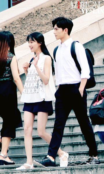 Same scene. Look how *aloof* Xiao Nai looks.