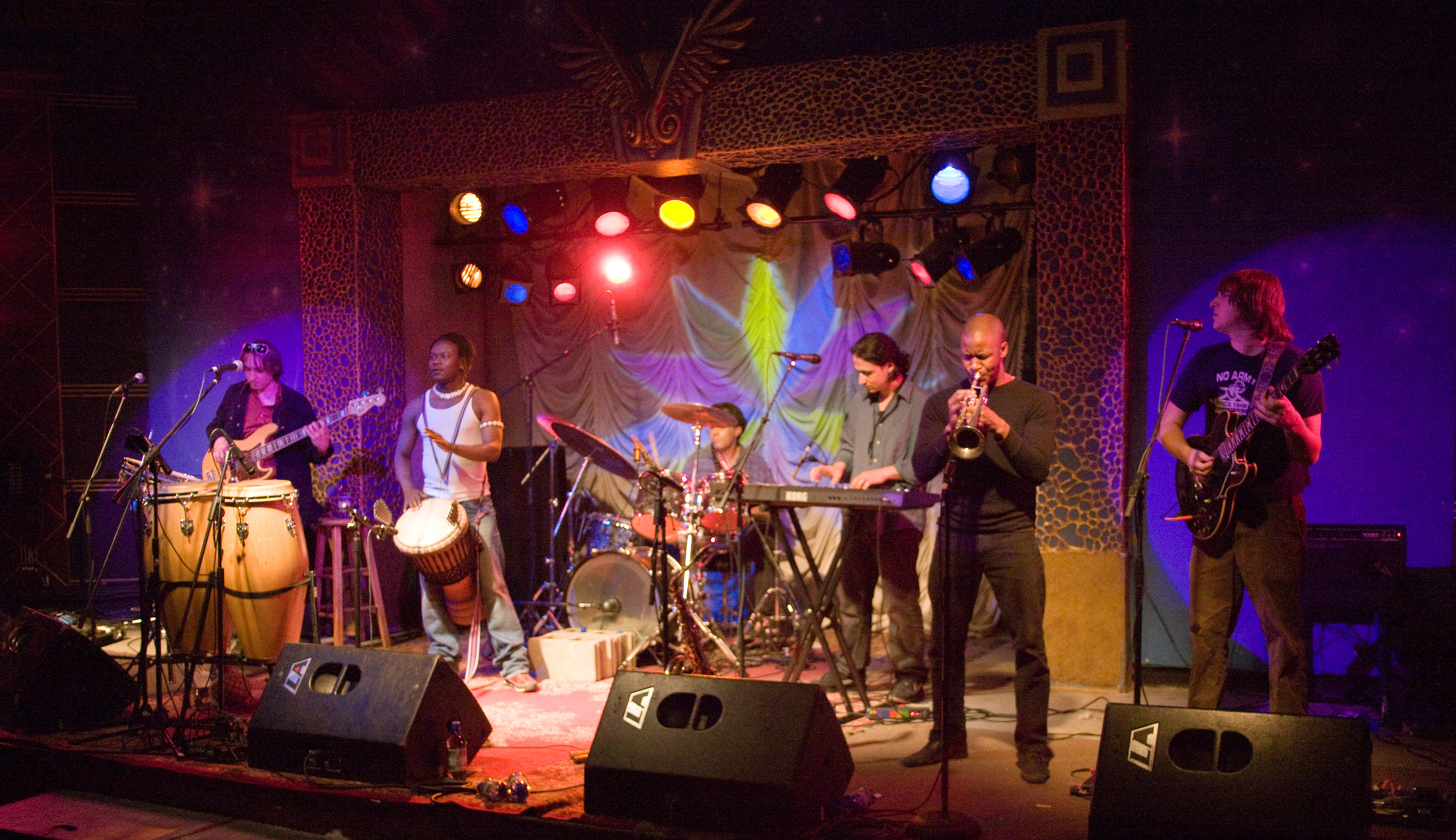Photo By Monty Chandler: Rhythm band Afromotive returns to State College.
