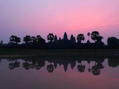 Angkor Pink Sunrise