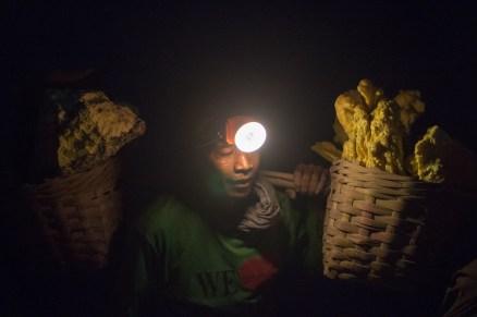 Sulfur Miner Portrait