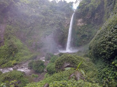 Waterall after Bromo