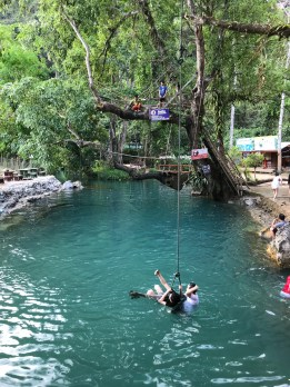 A Laotian Waterpark