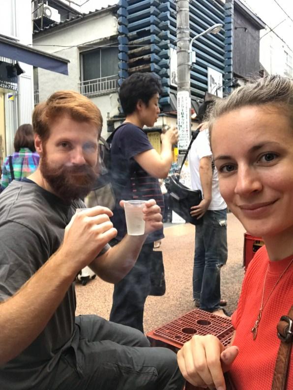 Street Sake Selfie