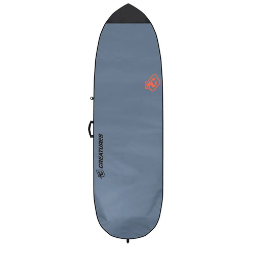 CREATURES OF LEISURE BOARDBAG Fish Lite Charcoal Orange 6'3''