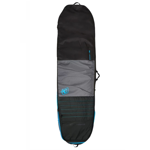 CREATURES OF LEISURE BOARDBAG Longboard Day Use Charcoal Cyan 7'6''