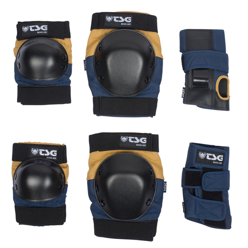 TSG Protection Set Nightblue Duskyellow - M