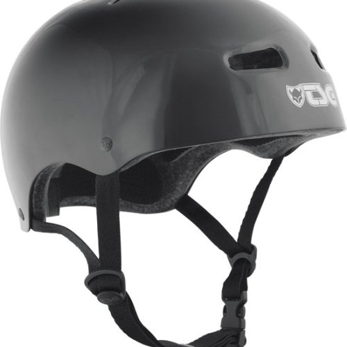 Tsg Helm Skate/Bmx Solid Color Injected Black - S/M