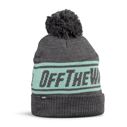 Off the wall pom heather grey