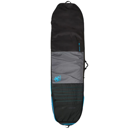 CREATURES OF LEISURE BOARDBAG Longboard Day Use Charcoal Cyan 8'0''