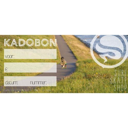 Kadobon Dreamsshop longboarder - 7,50
