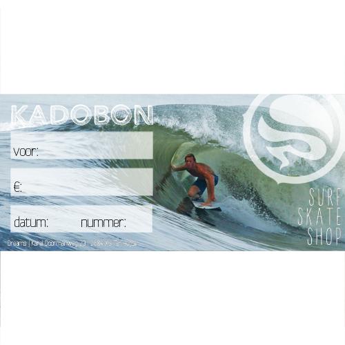 Kadobon Dreamsshop Surfer - 7,50