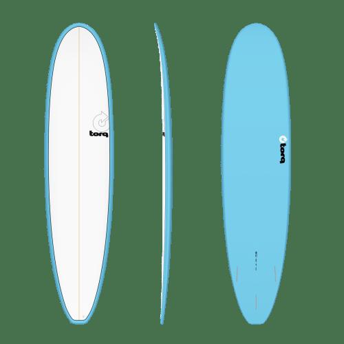 Torq Longboard Blue White 8'0