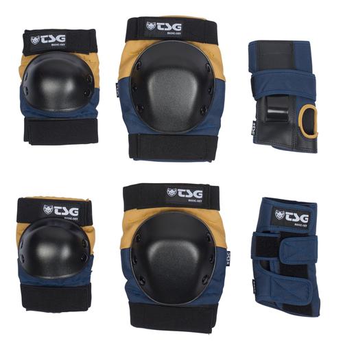 TSG Protection Set Nightblue Duskyellow S