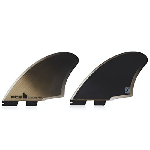 FCS II Machado Keel PC Twin Retail Fins