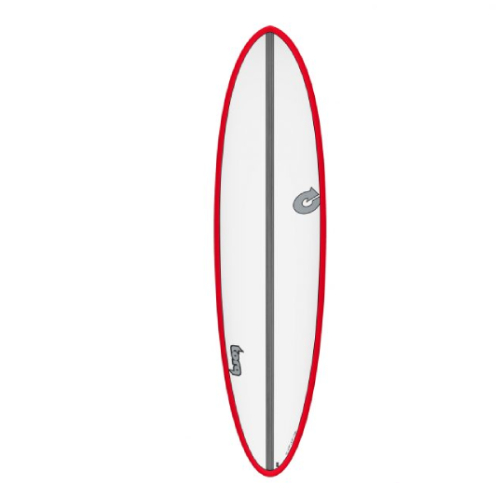 Torq Funboard CS White Red 7'2''