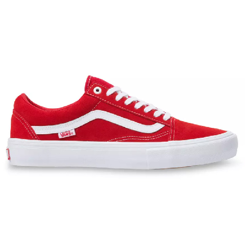 Old Skool Pro Suede Red White