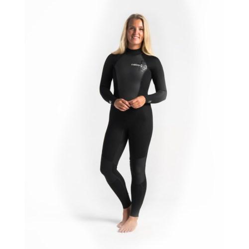 C-Skins Element 3x2 Womens Steamer Black