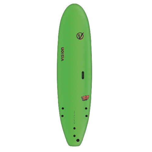 Vision TakeOff Lime 8'0''