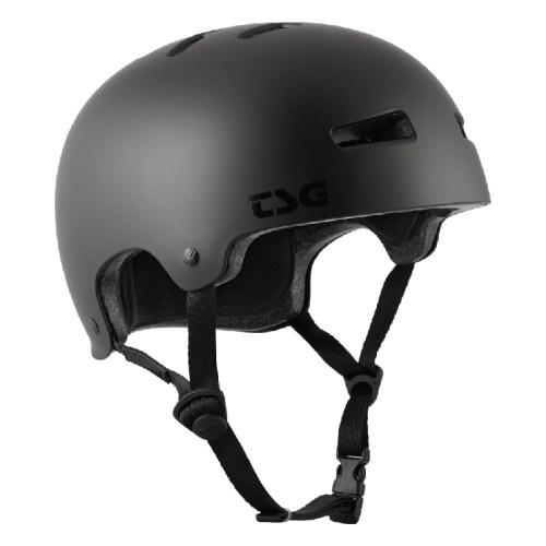 TSG Helm Evolution Satin Dark Black