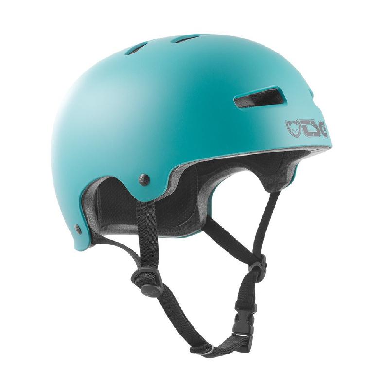 TSG Helm Evolution Satin Cauma Green