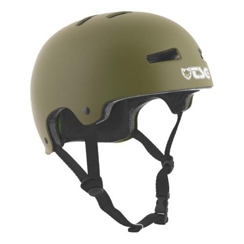 TSG Helm Evolution Satin Olive