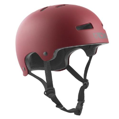 TSG Helm Evolution Satin Oxblood