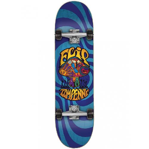 Flip Penny Love Schroom Complete Skateboard Blue 8.0