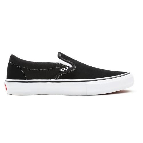 Skate Slip-On Black/White