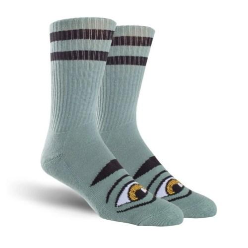 Toy Machine Sect Eye Socks Neon Sage