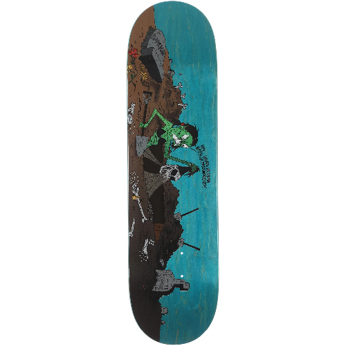 Baker Rowan Zorilla Wizardry Skateboard Deck 8.5