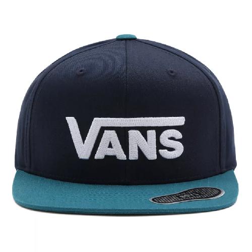 Vans Drop V II Snapback Dress Blues Blue Coral Boys