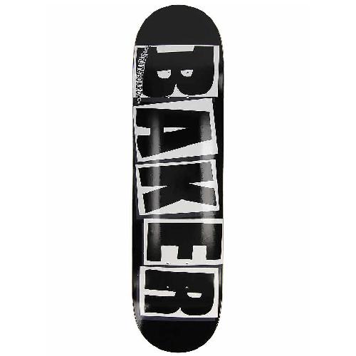 Baker Brand Logo Black/White Skateboard 8.25