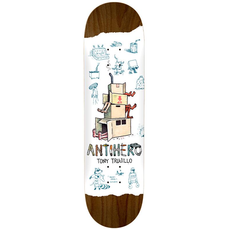 Anti Hero Trujillo Recyclling Skateboard Deck White 8.38